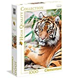 Clementoni 39295.7 - 1000 T High Quality Collection Tiger, Klassische Puzzle