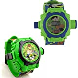 Vishwakarma Enterprises Combo Chota Bheem And Ben 10 24 Images Projector Watch