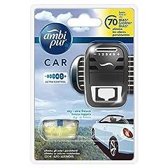 Idea Regalo - Ambi Pur Car Brezza Leggera Deodorante per Auto, Starter Kit, 7ml