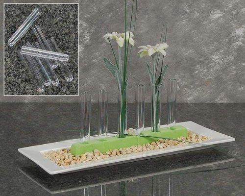 DN-Dekor 115-0014-005 - Reagenz-Röhrchen aus Acryl, 10 cm, 5 Stck -