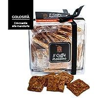 Croccante alla mandorla 36 pz. - Il caffè italiano - Prodotto artigianale Siciliano - Croccante alla mandorla - Pasticceria artigianale Siciliana (Croccante alla Mandorla)