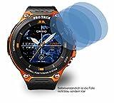 4ProTec 4X ANTIREFLEX matt Schutzfolie für Casio WSD-F20A Displayschutzfolie Bildschirmschutzfolie Schutzhülle Displayschutz Displayfolie Folie