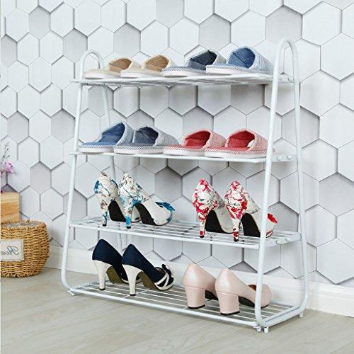 XUEYAN Étagère à Chaussures Rack de Stockage de Chaussures Rack Range-Chaussures Organisateur de Rangement Debout Easy Assemble l'économie d'espace (Couleur : B)