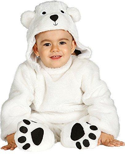 Fancy Me Baby Mädchen Junge Eisbär Tier Weihnachten Halloween Kostüm Outfit Verkleidung 6 - 24 Monate - 12-24 Months (6-12 Monat-junge Halloween-kostüme)