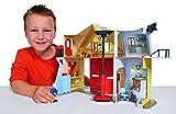 Simba 109251062 - Feuerwehrmann Sam Feuerwehrstation mit Figur 30 cm für Simba 109251062 - Feuerwehrmann Sam Feuerwehrstation mit Figur 30 cm