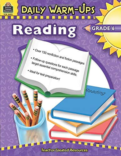 Reading, Grade 6 (Daily Warm-ups)