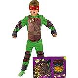 Rubie`s - Disfraz infantil de Tortugas Ninja en caja (888261-S)