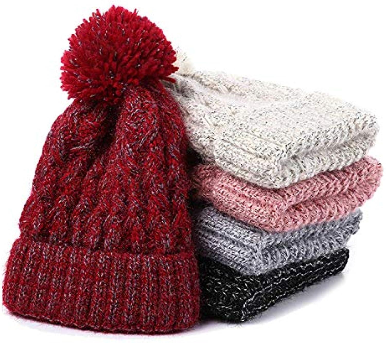 Knitted Hat Home di Cappello di Home Lana Cappello Caldo per Cappelli  Invernali a Maglia Cappelli per Donna Bianco Parent 8992b1 3d275ba1ebb0