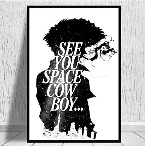 tgbhujk Anime Cowboy Bebop Spike Jet Carteles e...