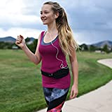 FinBurst Running Belt - Fits EVERY iPhone & Cell Phone - The Best Waist Pack for Athletes Around the World