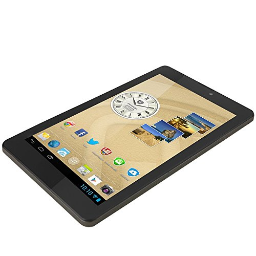 Prestigio MultiPad Rider 7.0 3G 17,8 cm (7 Zoll) Tablet-PC (ARM MT8312, 1,3GHz, 1GB RAM, 8GB HDD, Mali 400MP, Android) schwarz