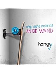 Longboard & Skateboard crochet de mur - convient à chaque board - accroche ta planche