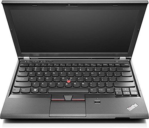 Lenovo Thinkpad X230 31,75 cm (12,5 Zoll HD) Notebook (Intel Core i5, 4GB, 320GB, Intel HD 4000, Webcam, Windows 10 Pro) schwarz [Germania] (Ricondizionato Certificato)