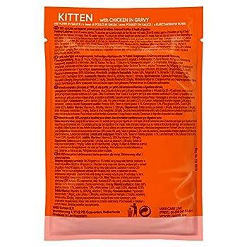 IAMS Nourriture Humide en Sauce Poulet pour Chaton 0,85 kg