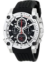 (CERTIFIED REFURBISHED) Bulova Precisionist Analog Black Dial Men's Watch - 98B172