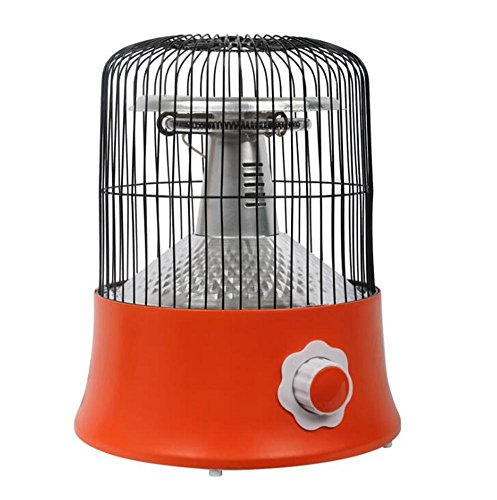 STEAM PANDA Heizung Wärmer 1000 watt Kohlefaser Heizung Vogelkäfig Form 360-Grad-heizung Kleine Sonne