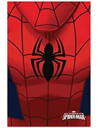 Manta polar Spiderman Marvel logo