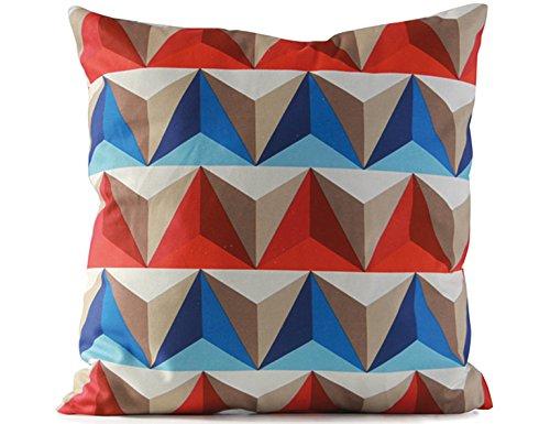 Madison 985104 Coussin Décoratif Coton/Polyester Bleu 50 x 50 cm