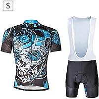 Babero para Hombres Shorts de Manga Corta para Hombres Deportes Ocio Salir Corriendo Fitness
