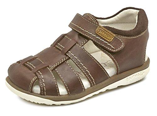 Garvalin Jungen 172460 Slingback, Braun (Cuero), 27 EU (Kinder Schuhe Garvalin)