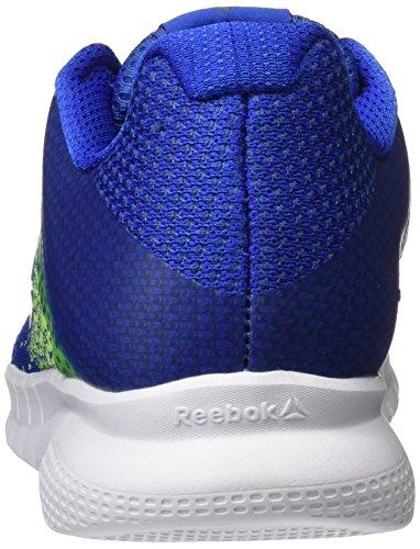 Reebok Instalite Run, Scarpe Running Uomo Blu (Virtual Blue/electric Flash/white)
