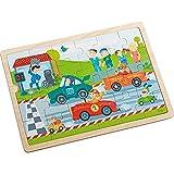 Haba 301941 Zippy Cars - Puzzle de madera