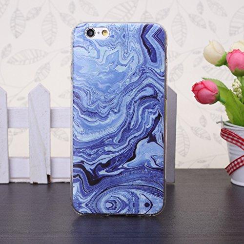 iPhone Case Cover 5se, 6s, 6s et marbre, coloré, caoutchouc silicone schéma tpu doux pour la peau couvrir les cas 5se, 6s, 6s et ( Color : 10 , Size : 6s Plus ) 7
