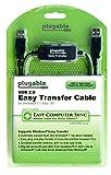 Plugable Windows Transfer Cable for Windows 10, 8.1, 8, 7, Vista, XP. Includes Bravura Easy Computer Sync Software