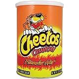 Cheetos Crunchy Flamin' Hot Canister 4.25OZ (120.4g)