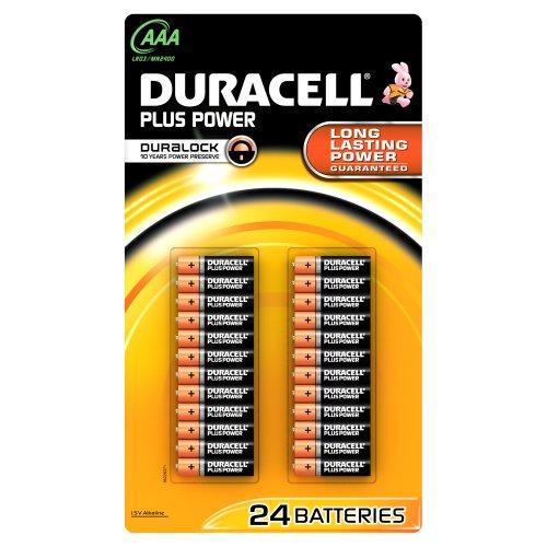 Duracell Plus Power Piles De Forme Cylindrique Alcaline (1,5 V)
