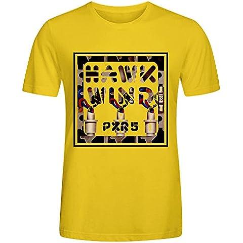 Gerlernt Hawkwind Pxr5 Mens Funny t shirts O Neck