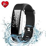 Fitness tracker, Ginsy suivi d'activité montre avec écran tactile fin Bracelets, Wearable Smart Bracelet podomètre moniteur de sommeil pour Android et iOS