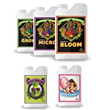 Advanced Nutrients PH Perfect Grow + Micro + Bloom Bud Candy Big Bud Set Kit +Bud Candy & Big Bud 500ml