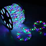 High Quality Waterproof LED Rope Light With Adapter For Decoration - 5 - Meters - RGB(Multi Color) (Phoenix Light)