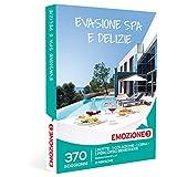 Emozione3 - Cofanetto Regalo - EVASIONE Spa E DELIZIE - 370 soggiorni da Sogno in Hotel 3 e 4 Stelle