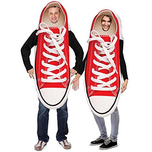 Tigerdoe Paar-Kostüme - Neuheit Sneaker-Kostüm - Lustige Erwachsenen-Halloween-Kostüme - 2 (Lustiges Für Erwachsenes Paar Kostüm)