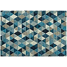 tapis motif geometrique. Black Bedroom Furniture Sets. Home Design Ideas