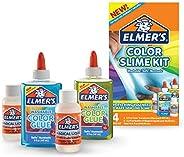 Elmer's Color Slime Kit (2062237) 2-Count + 2-Activ