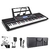 Best Piano Keyboards - Vangoa VGK6200 61 Light-up Keys Electronic Piano Keyboard Review