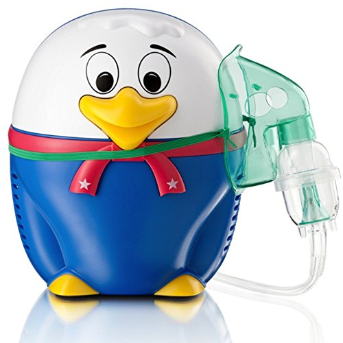 Happy Duck Inhaliergerät Kinder Inhalator Inhalation Aerosol Vernebler Kompressor Vogel -