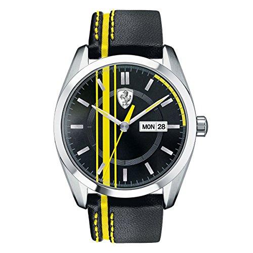 Ferrari De los hombres Scuderia Analógico Casual Cuarzo Reloj 0830234