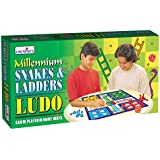 Creative Educational Aids P. Ltd. 0821 Millennium Ludo, Snakes and Ladders