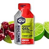 GU Roctane Energy Gel Cherry Lime, 35mg Caffeina, box da 24 gel da 32g