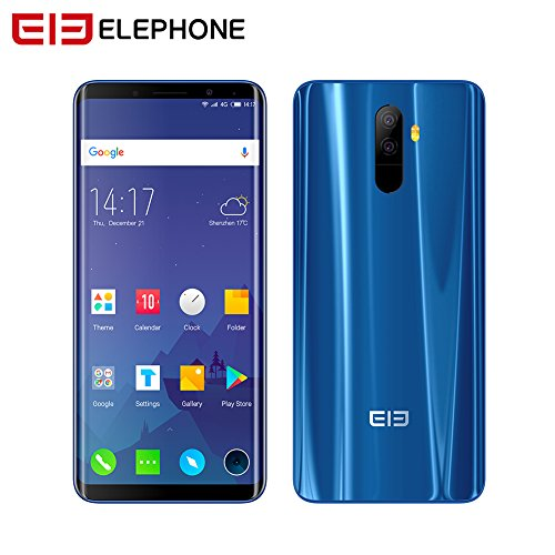 Elephone U Pro Elephone 4G Smartphone Android 13mp Kameras 5,99 '' Octa Core Snapdragon 6 GB RAM 128 GB ROM Gesicht ID Typ-C