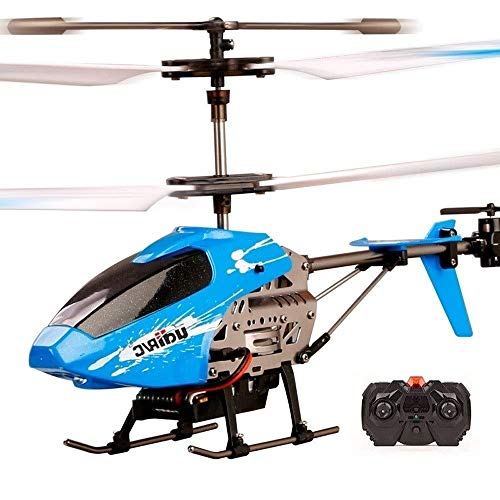 SSBH RC Flugzeug Hubschrauber 4,5 Kanäle mit Crash Resistance und Gyro Fernbedienung Drone Infoor Outdoor-Flugzeuge for Kinder Erwachsene Indoor-Hobby Mini Flying Blades ersetzen enthaltenes Flugzeug