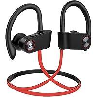 Auriculares Bluetooth Audífonos inalámbricos hidrófugo IPX7,Auriculares inalámbricos Audífonos Deporte con micrófono, 8 Horas