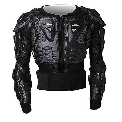 Motorrad-Teile Full Body Schutzjacke Spine Chest Getriebe Rüstung Off Road Racing Motorcross Schutzbekleidungsgröße XXL Fit For 2003-2012 Honda CBR 600RR