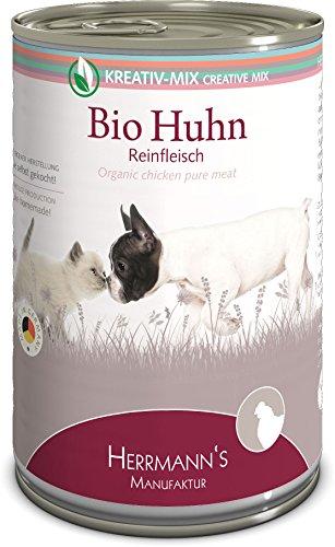 Herrmanns Bio Huhn 100 Prozent, 12er Pack (12 x 400 g)