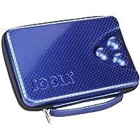 Joola Tischtennis-Hülle Square - Bolsa para material de ping pong, color azul
