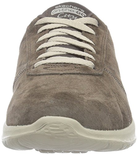 Skechers On the GO City Posh, Baskets Basses Femme brown (CHOC)